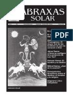 Revista Cultural Abraxas Solar No 01, 2009 09-10