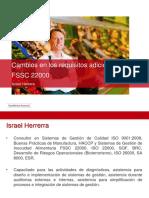 Cambios Requisitos Adicionales FSSC