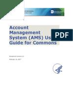 Ams User Guide