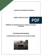CHRISTIANBELTRAN-NICARAGUA Contaminacionquimicadelagua