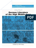 German Literature of the High Middle Ages by Will Hasty