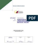 23 CR GA 01 R01 Criterios Generales Acreditacion Labs 22062015
