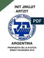 Tojnit Jinujit Artzit Hl PDF
