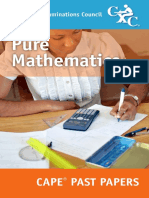 CAPE® Pure Mathematics Past Papers 2005-2014