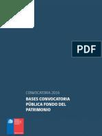 Bases Fondo Patrimonio 2016