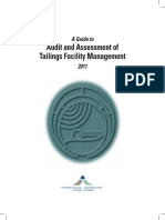 Book - A Guide to Audit & Assessment of Tailings Facility Management, MAC 2011