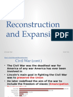 reconstruction and expansion  part 1