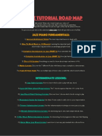 Jazz Tutorial Roadmap 25 of My Best Videos in Order