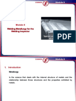Module 8 Welding Metallurgy for the WI