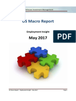 Lighthouse US Macro Report - Employment Insight - 2017-05