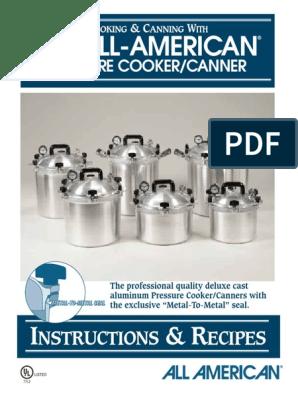 alpha-ene.co.jp All American 111 Pressure Cooker Canner Canning ...