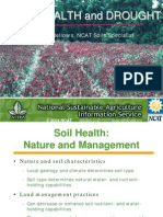 Soil Health and Drought