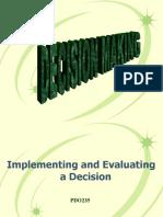 17309785 Decision Making PPT by Afiz