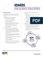 iste standards for computer science educators 2011 - permissions and licensing - permitted educational use