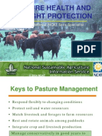 Pasture Health and Drought Protection
