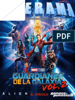 Revista Cinerama - Guardianes de la Galaxia Vol. 2