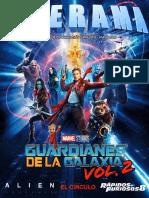 Revista Cinerama - Guardianes de la Galaxia Vol. 2