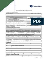 Formulário de solicitacao de cópias de documentos