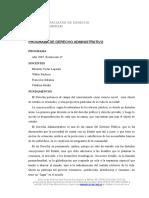 44 Administrativo Programa de Estudios Derecho Administrativo