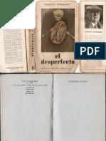 Friedrich Dürrenmatt - El Desperfecto (1960, Compañía General Fabril)