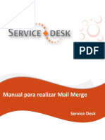 Manual Para Realizar Mail Merge