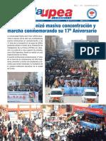 UPEA Comunica, boletín de prensa
