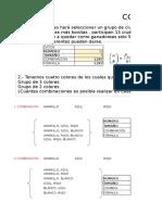 Ejercicios de Combinat y Permutaciones (1)