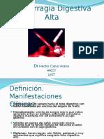 2. Hemorragia Digestiva Alta - Dr. Héctor Calvo Arana