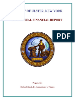 Ulster County 2016 Financial Report