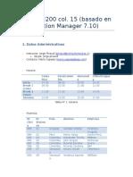 Datos SM200