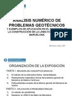 ANÁLISIS NUMÉRICO DE PROBLEMAS GEOTÉCNICOS.ppt