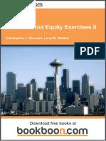 Liabilities and Equity Exercises II