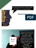 Teaching Students with Emojis, Emoticons, & Textspeak.pdf