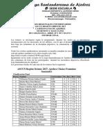 Informe Final Ajedrez Ascun 2017