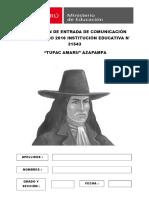 EVALUACIÓN DE ENTRADA MATEMÁTICA 2016 - CARATULA.docx