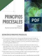 Clase 8 -Principios Procesales