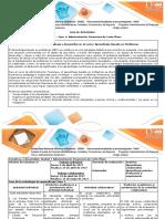 Guía de Actividades y Rúbrica de Evaluación - Fase 1 Trabajo Individual - Colaborativo Unidad 1