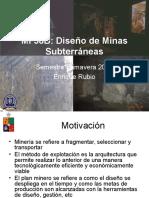 01-introduccion - Diseño de Minas Subterraneas