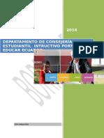 Borrador Instructivo Portal Educar Ecuador