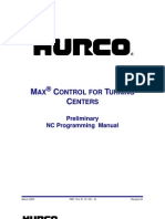 Hurco Lathe NC Programming r0114-301B