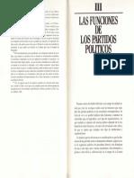 Funciones Tradicionales de Los Partidos (Cotarelo)