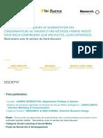 Harris Interactive Linkfluence ResearchWeb Conseil CP