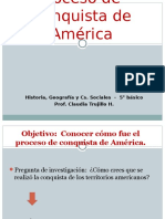 Proceso de COnquista de América