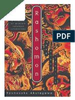 Rashomon and Other Stories by Akutagawa Ryūnosuke