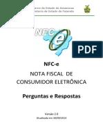 NFC e Perguntas e Respostas SEFAZ AM Versão 2.0