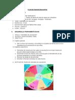 PLAN de SESION EDUCATIVA - Calendario de Vacunacion