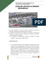 Clasificacion de Vias en La Region Moquegua