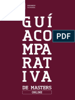 Guia Comparativa Masters Online