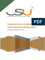 Programa de Auditoria Interna 2016 V4 1