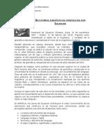 Dicotomías Linguísticas_ Saussure